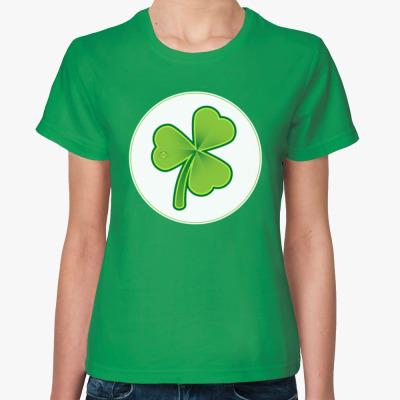 Женская футболка Shamrock