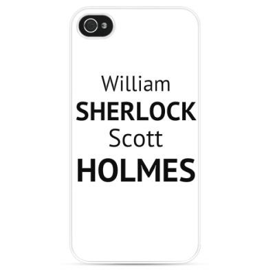 Чехол для iPhone Полное имя Шерлока