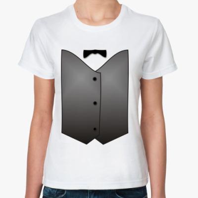 Классическая футболка Жилет ж.11