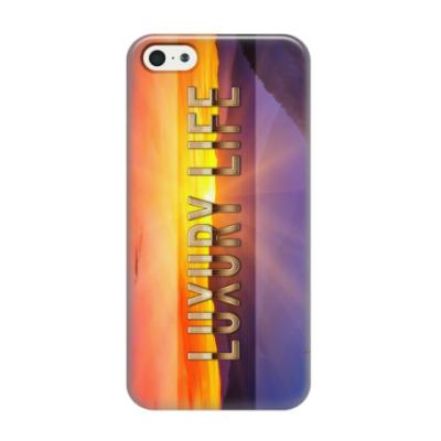 Чехол для iPhone 5/5s  Luxury Life