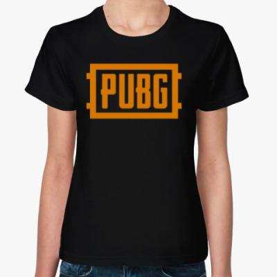 Женская футболка PlayerUnknown's Battlegrounds / PUBG (ПУБГ) [1]