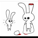 Sliced rabbit