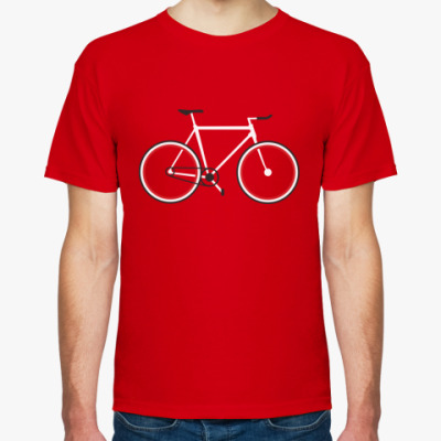 Футболка Велосипед фикс (fixie)