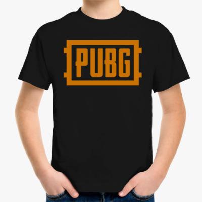 Детская футболка PlayerUnknown's Battlegrounds / PUBG (ПУБГ) [1]