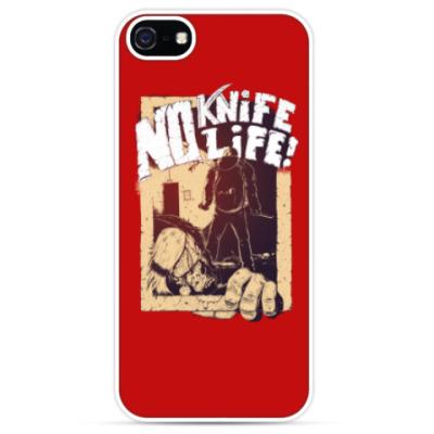 Чехол для iPhone No Knife — No Life!
