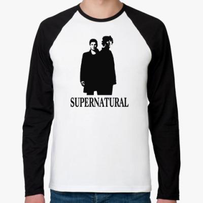 Футболка реглан с длинным рукавом Supernatural Sam&Dean
