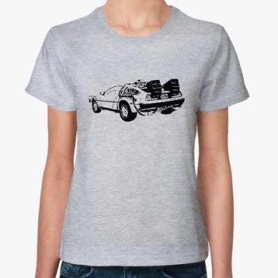 Женская футболка outatime Назад в будущее