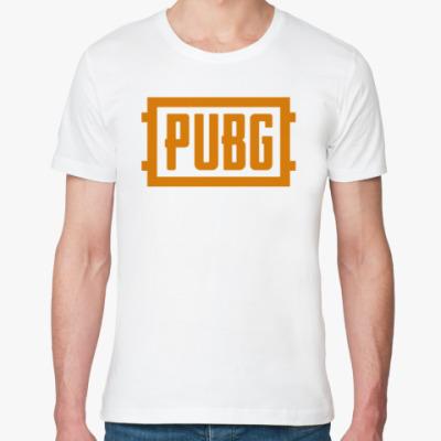 Футболка из органик-хлопка PlayerUnknown's Battlegrounds / PUBG (ПУБГ) [1]