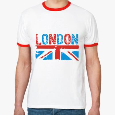 Футболка Ringer-T London