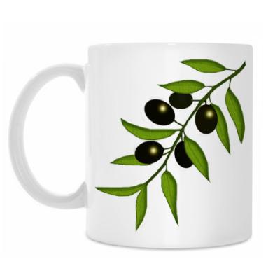 Кружка Ветка маслин