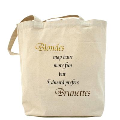Сумка Ed prefers brunettes