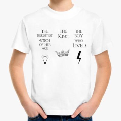 Детская футболка  Harry Potter