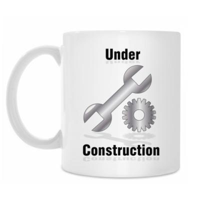 Кружка Кunder construction