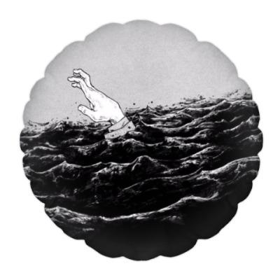 Подушка Арт море