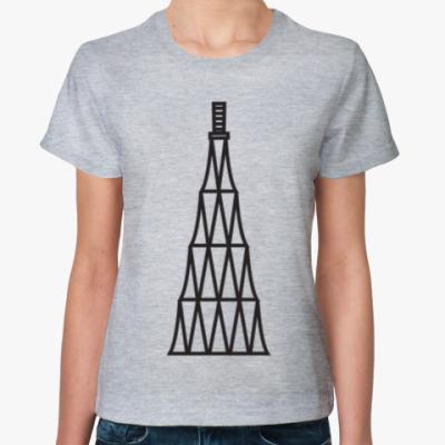 Женская футболка Футболка «Шуховская» женская