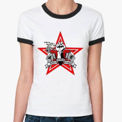 Женская футболка Ringer-T Свобода