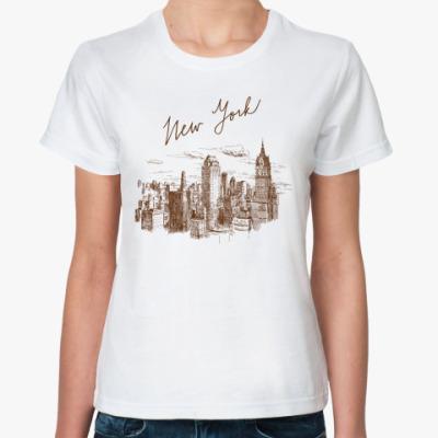 Классическая футболка New York