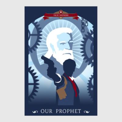 Постер Bioshock Infinite