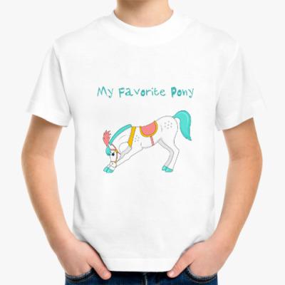 Детская футболка My favorite pony