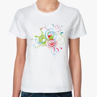Классическая футболка  Lines