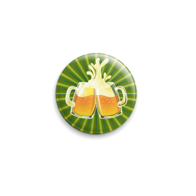 Значок 25мм beer
