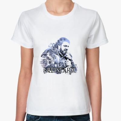 Классическая футболка Game of thrones. Ned Stark