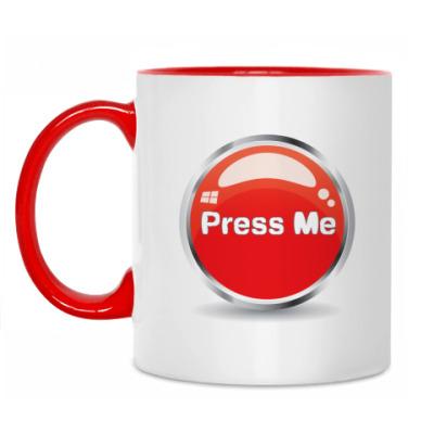 Кружка Press me