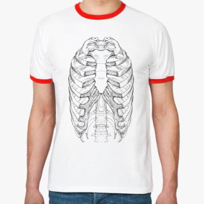Футболка Ringer-T Anatomy