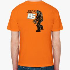 Мужская футболка, оранжевая