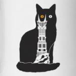 Кот с оком Саурона