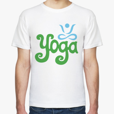 Футболка Yoga.
