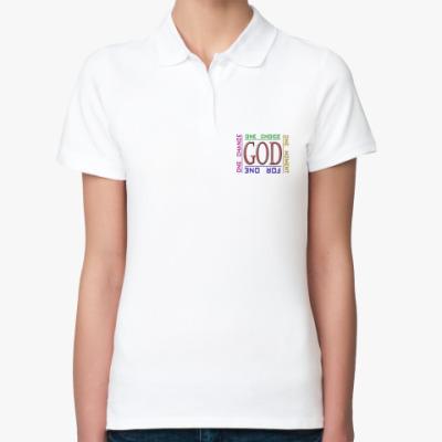 Женская рубашка поло god