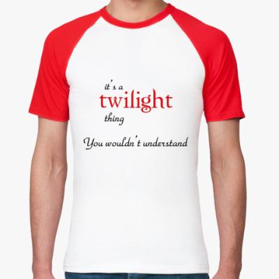 Футболка реглан Twilight