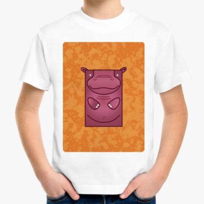 Детская футболка Wild Animal Hippo