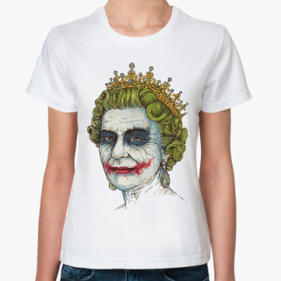 Классическая футболка Джокер (Английская Королева)