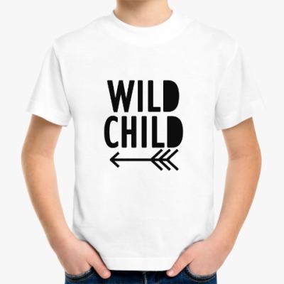 Детская футболка Дикий ребенок