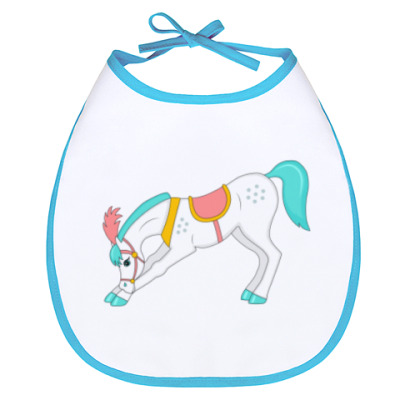Слюнявчик Цирковой пони