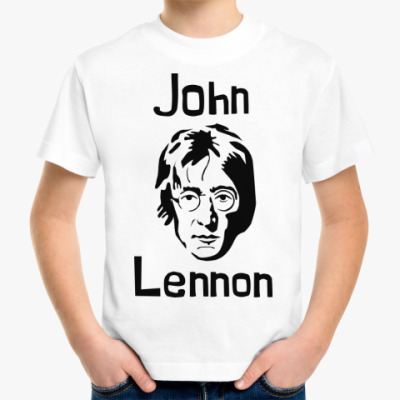 Детская футболка Джон Леннон