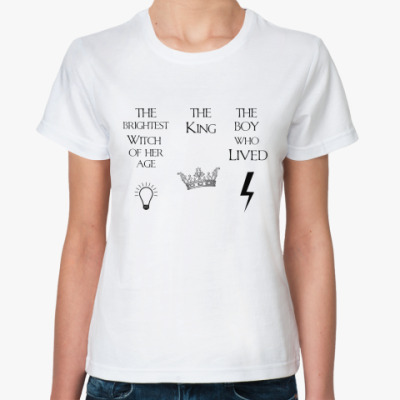 Классическая футболка  Harry Potter