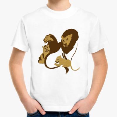 Детская футболка Львы