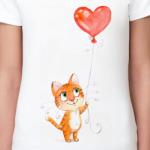 Котик с шариком