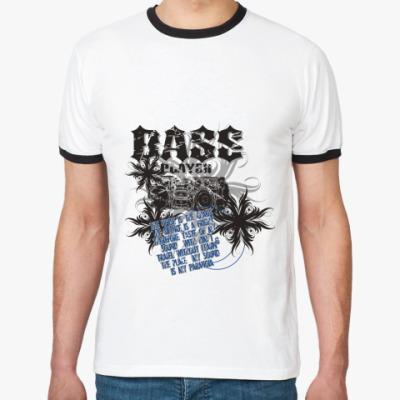 Футболка Ringer-T Bass Player