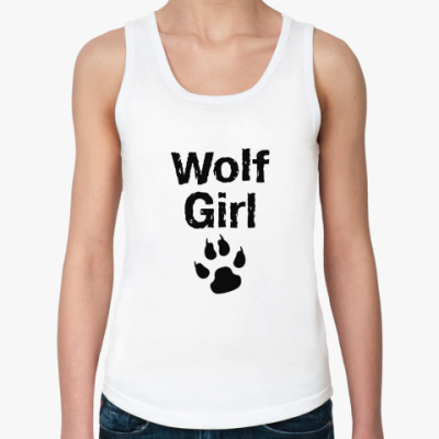 Женская майка Wolf girl