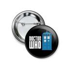 Значок 37 мм Doctor Who