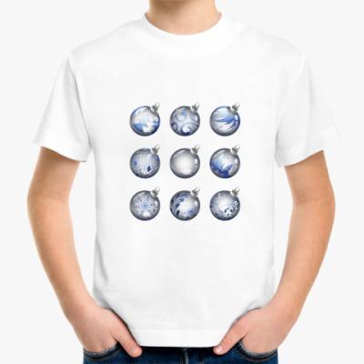 Детская футболка Новогодние шары