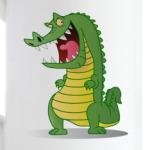 Злобный крокодил