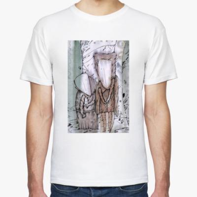 "Футболка Муж. футболка ""Шкафный ангел"""