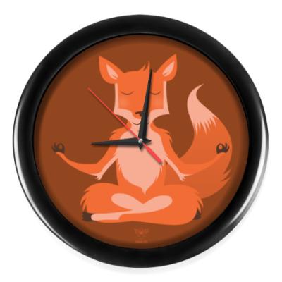 Настенные часы Animal Zen: F is for Fox