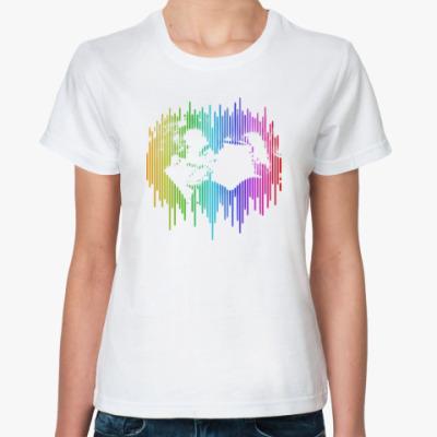 Классическая футболка Братский поцелуй