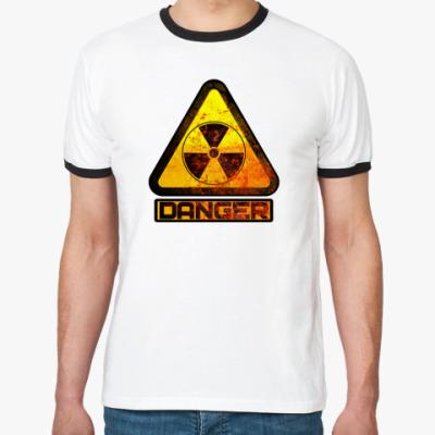 Футболка Ringer-T danger